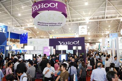 CommunicAsia thường thu hút lượng khách tham quan rất đông đảo