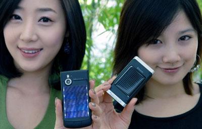 LG Eco friendly - sạc pin bằng năng lượng mặt trời