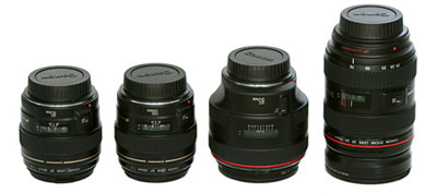 Dòng ống kính chụp chân dung Canon