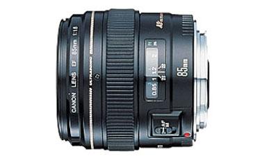 Ống kính Canon EF 85 f1.8 USM. Ảnh Canon