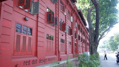 Bảo tàng thiết kế Red Dot Museum (Singapore)