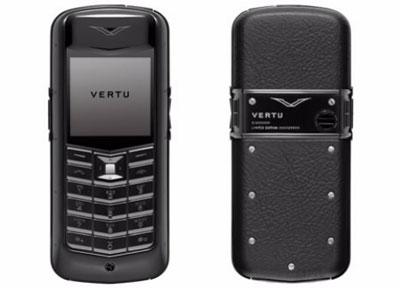 Nokia - Vertu Constellation Pure đen