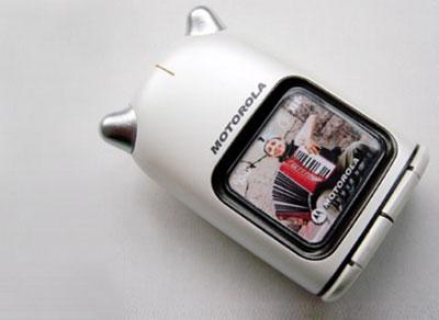 Motorola Kawaii - mặt trước