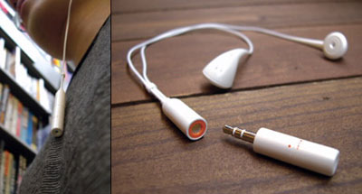 Tok Tak Plug MP3. Ảnh: Yankodesign