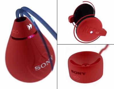 Sony Zik MP3 Player. Ảnh: Yankodesign